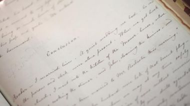 Original Jane Eyre manuscript on display in Shanghai