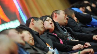 Work pressure is the main reason for poor sleep in China