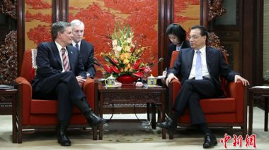 Chinese Premier meets US congress delegation in Beijing