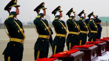 Remains of Korean War soldiers to return home to China
