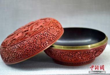 The uniquely Chinese art of lacquer carving