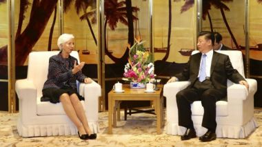 IMF's Lagarde warns of debt risks in China's Belt and Road initiative