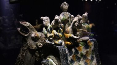 Sancai ceramic figures: an artistic glimpse into China's ancient Silk Road