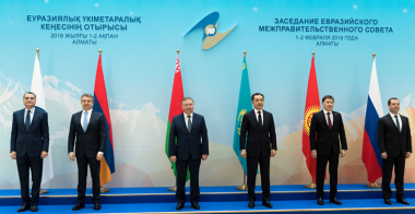 China signs trade deal with Eurasian Economic Union