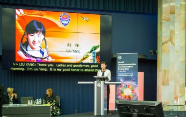 China's first female astronaut sees artificial intelligence playing a role in space exploration