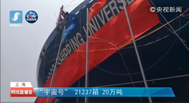 China's largest cargo ship handed over to owners