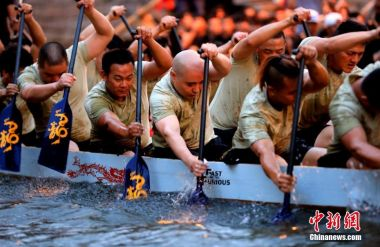 China's Dragon Boat Festival takes off around the world
