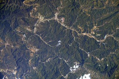 ESA astronaut spots the Great Wall of China from the International Space Station