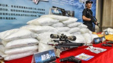 11 tonnes of drugs seized in southwest China between Jan-May