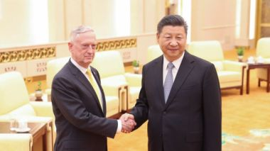 Xi Jinping firm on Chinese sovereignty as US defense secretary Mattis visits