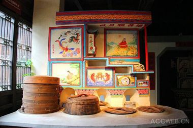 Creative spark of East China's traditional painted kitchen stoves