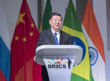 Xi Jinping urges global development in BRICS speech