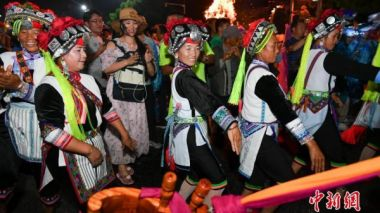 Kunming Yi Torch Festival celebrated over the weekend