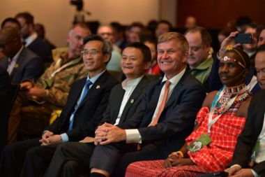 African wildlife ranchers receive awards from Chinese conservation groups