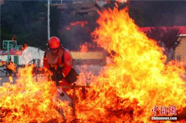 Chinese Red Cross donates to Greek fire fund