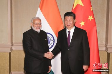 Indian PM Modi optimistic about China-India relations