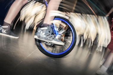 Unicycle tournament opens in central China