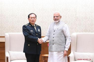 China and India pledge to further strengthen military ties