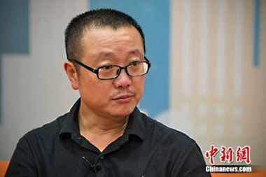 Three-Body Problem writer attends Beijing International Book Festival