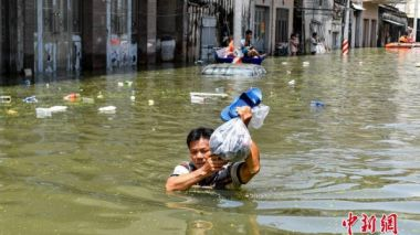 More than 1.2m people affected by severe flooding in S China
