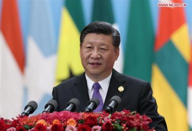 China to implement eight major initiatives with African countries, says Xi
