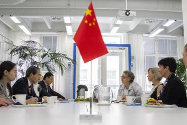 Chinese delegation visits Tampere to learn about Finnish education