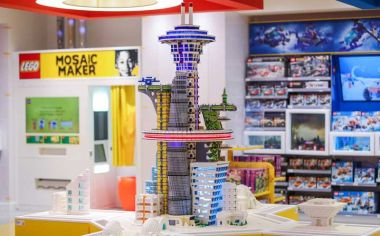 Lego opens second flagship store in China