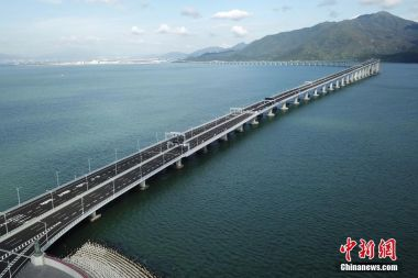 Hong Kong-Zhuhai-Macao Bridge to open on Tuesday