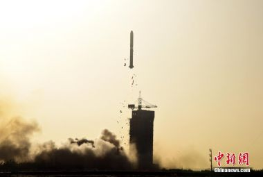 Joint China-France oceanography satellite launches from Jiuquan with microsatellite passengers