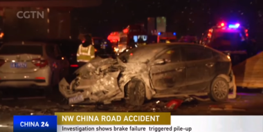At least 15 killed in China motorway pile-up