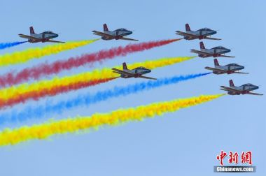 China's biggest air show begins in Zhuhai