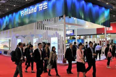 Import expo encourages business between China and Finland