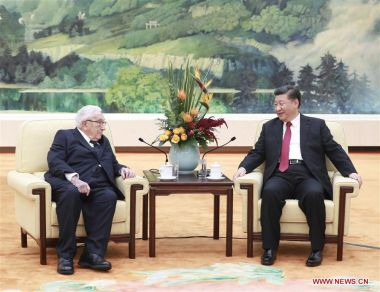 Xi Jinping tells Henry Kissinger that China and US need to accurately assess strategic aims