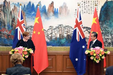 China and Australia to launch new round of tariff cuts in 2019