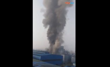 Warehouse explosion kills six in east China