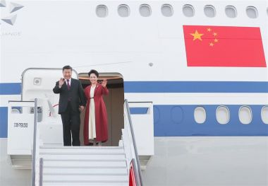 Xi Jinping arrives in Spain for business-focused state visit