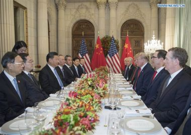 "China and US hold ""extensive and in-depth"" trade talks"
