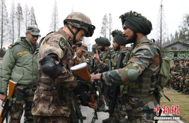 India begins joint military exercises in China as bilateral relations thaw