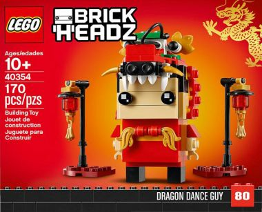 Lego reveals dragon dance BrickHeadz set for Chinese New Year 2019