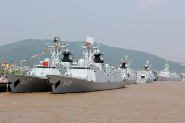 China begins work on Pakistani Type 054A frigate