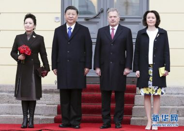 President of Finland to visit China on Sunday
