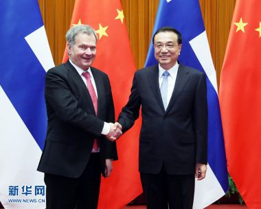 China ready to provide broad business opportunities for Finland