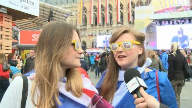 Eurovision's energetic fans pick their winner