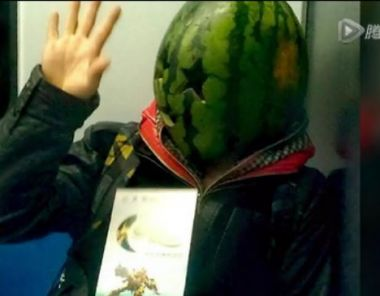 Man with watermelon over his head gets arrested for looking 'drunk and scary'