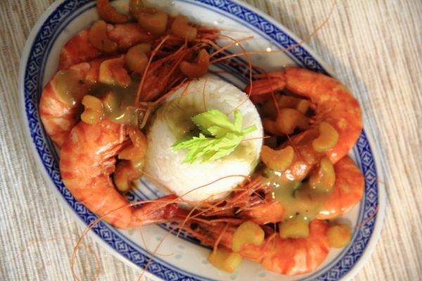Shrimps – The Chinese party food