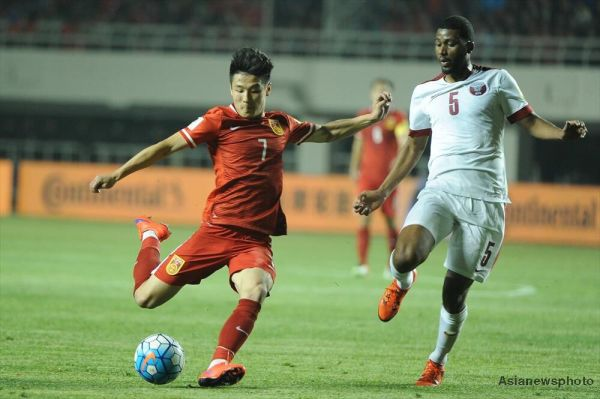 China defeat Syria 2-0 in international football friendly