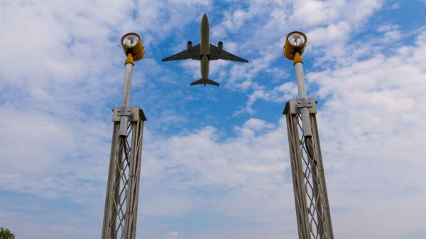 Chinese airline bound for northern Europe