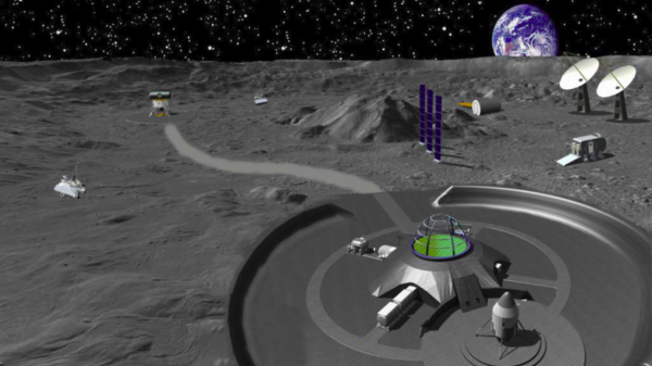 Living on the Moon: A Chinese conceptual lunar base