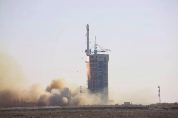 China's third space launch in five days carries land survey satellite to orbit