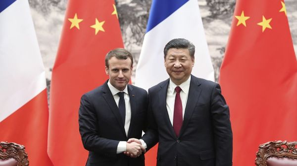 Xi jinping, Macron hold free trade phone call